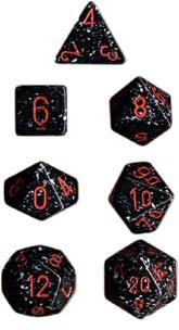 Dice Set Space Speckled (7)