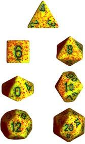 Dice Set Lotus (7) CHX25312