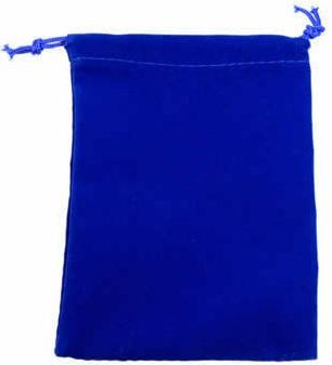 Chessex Velour Dice Bag Small Blue