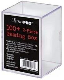 Ultra Pro Acrylic Clear Gaming Box 100+