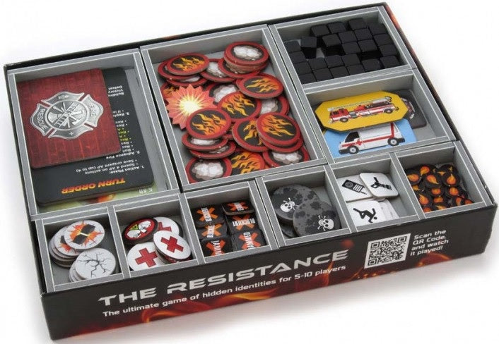 Folded Space Game Inserts - Flash Point Fire Rescue