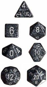 Dice Set Speckled Ninja