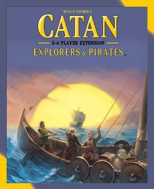 Catan - Explorers and Pirates 5-6 Player Extension - 5th Edition