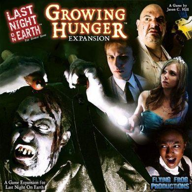 Last Night on Earth Growing Hunger Expansion - damaged box