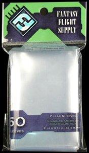 Clear Sleeves: Standard American Board Game Pack (50) FFS03
