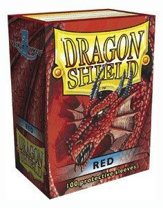 Dragon Shield Red Sleeves