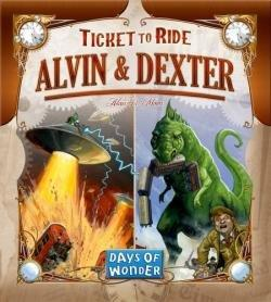 Alvin & Dexter - A Ticket to Ride Monster Expansion