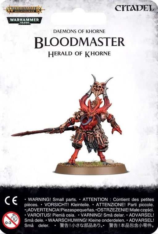 Daemons of Khorne Bloodmaster, Herald of Khorne