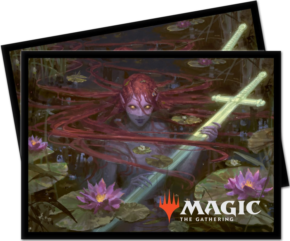Ultra Pro Throne of Eldraine Emry Lurker of the Loch Standard Deck Protector sleeves 100ct for Magic The Gathering
