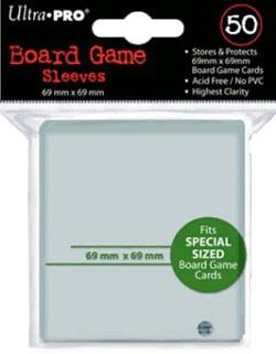 Ultra Pro Board Game Sleeves - 69mm x 69mm