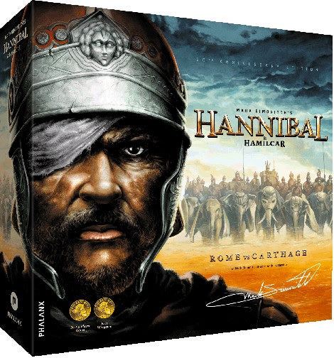 Hannibal & Hamilcar Rome vs Carthage Boardgame