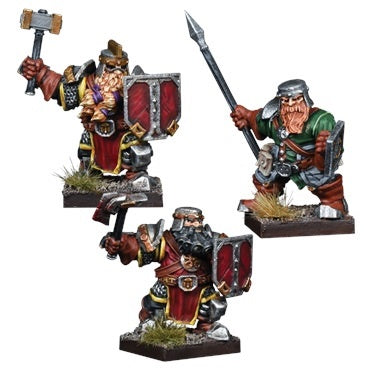 Kings of War Vanguard: Dwarf Reinforcement Pack