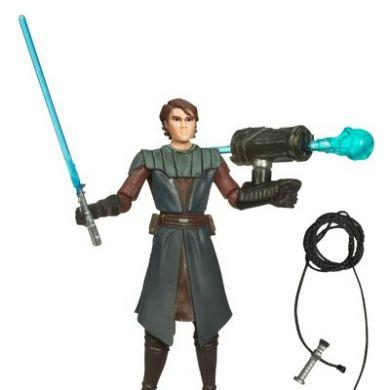Star Wars The Clone Wars: Anakin Skywalker Action Figure 1st Day Of Issue