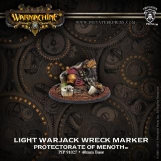 Warmachine Protectorate of Menoth Light Warjack Wreck Marker