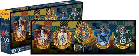Harry Potter Crests Slim Puzzle 1,000 pieces