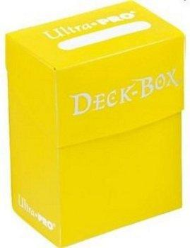 Ultra Pro Yellow Deck Box