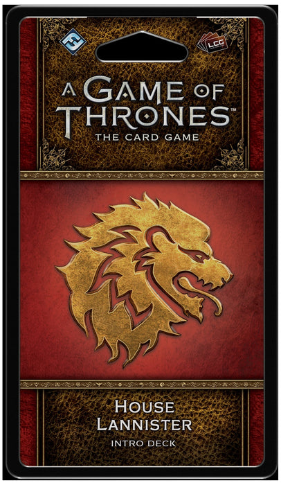 A Game of Thrones: The Card Game (Second Edition) House Lannister Intro Deck