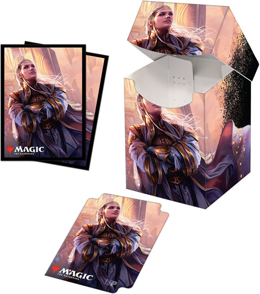 Ultra Pro Magic The Gathering Commander Legends Rebbec, Architect of Ascension 100+ Deck Box and 100ct sleeves