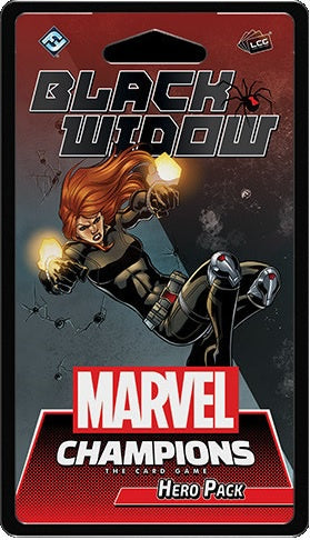 Marvel Champions LCG Black Widow Hero Pack