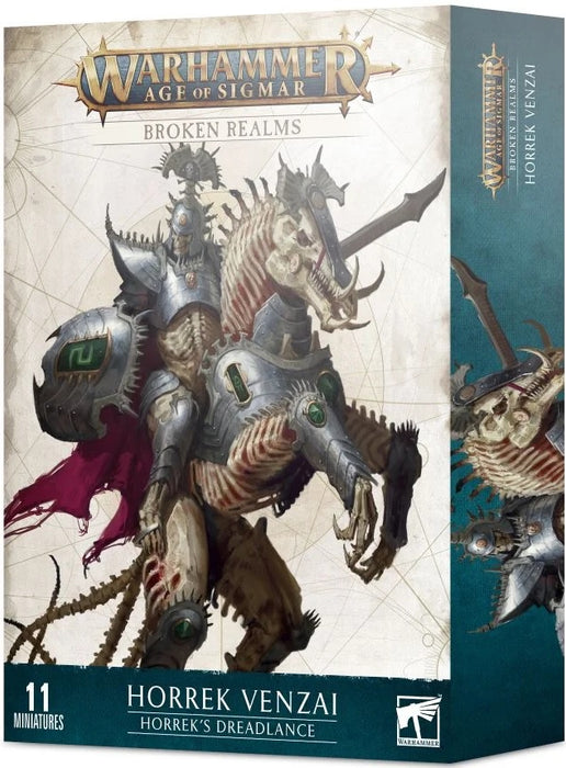Age of Sigmar Broken Realms Horrek Venzai Horrek's Dreadlance