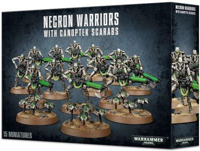 Warhammer 40K Necrons: Necron Warriors with Canoptek Scarabs 49-06