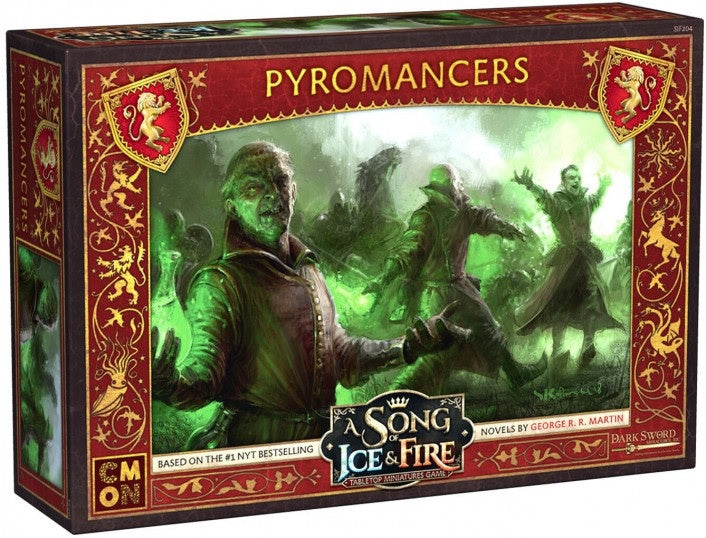 A Song of Ice and Fire TMG Pyromancers