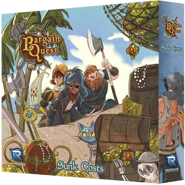 Bargain Quest Sunk Cost Expansion ( includes Promo board )