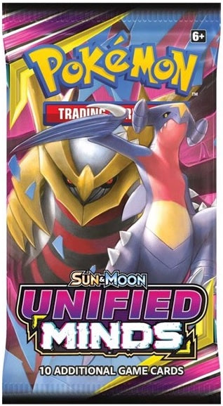 Pokemon TCG Unified Minds Booster