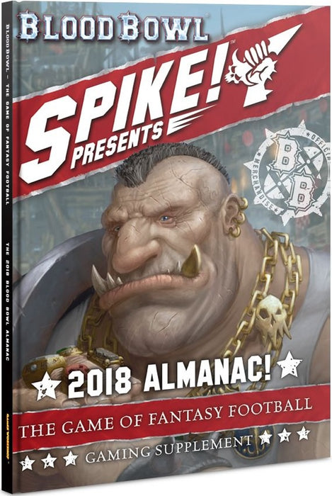 Blood Bowl The 2018 Blood Bowl Almanac