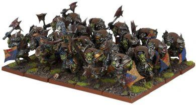 Kings of War - Orc Ax Regiment