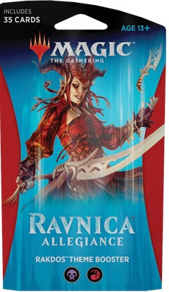 Magic the Gathering: Ravnica Allegiance Theme Booster - Rakdos