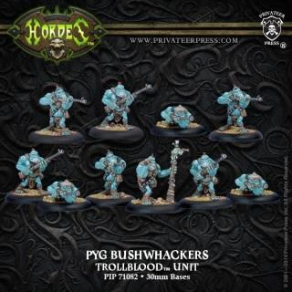 Hordes Trollbloods Pyg Bushwhackers Unit ON SALE