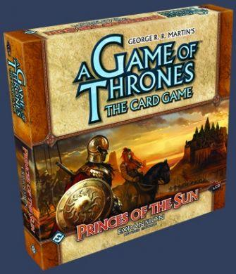 A Game of Thrones The Card Game: Princes of the Sun Expansion Revised On Sale!
