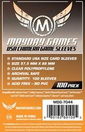 Mayday Games USA Chimera Orange Sleeves (100)