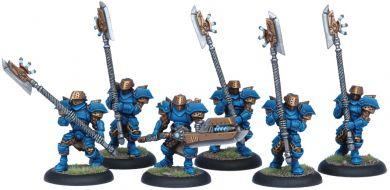 Warmachine Cygnar Stormguard Unit ON SALE