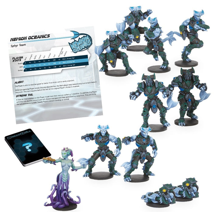 DreadBall 2nd Editon Nemion Oceanics - Sphyr Team