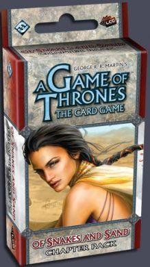 A Game of Thrones The Card Game: Of Snakes and Sand - On Sale!