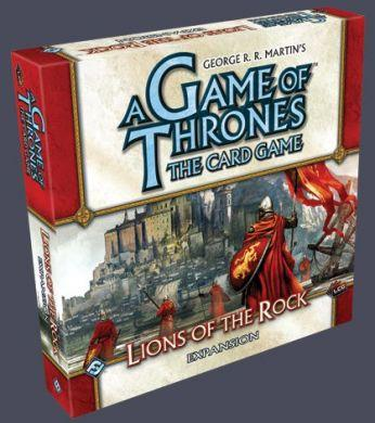 A Game of Thrones The Card Game: Lions of the Rock On Sale!