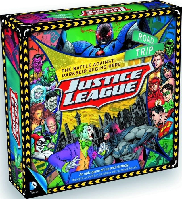 Road Trip Justice League Board Game