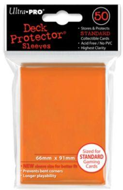 Ultra Pro Deck Protector Orange Sleeves (50)