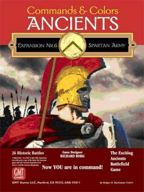 Commands & Colors: Ancients Expansion Pack 6 The Spartan Army