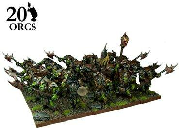 Kings of War - Orc Greatax Regiment