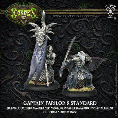 Hordes Legion of Everblight Captain Farilor & Standard Blighted Nyss Legionnaire Unit Attachment ON SALE
