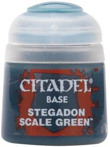 Citadel Base: Stegadon Scale Green 21-10