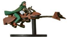 Star Wars Miniatures: 04 Commando on Speeder Bike