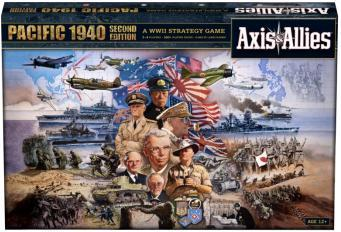 Axis & Allies Pacific 1940 Second Edition Board Game