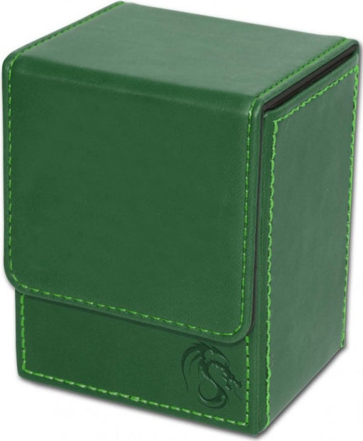 BCW Deck Case Box LX Green (Holds 80 cards)