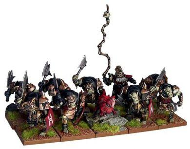 Kings of War - Abyssal Dwarf Slave Orcs
