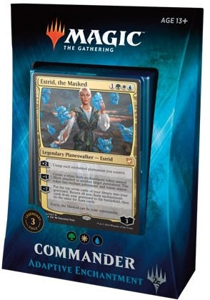 Magic the Gathering: Commander 2018 Adaptive Enchantment