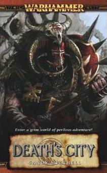 Warhammer Novel: Death's City - Damaged Cover